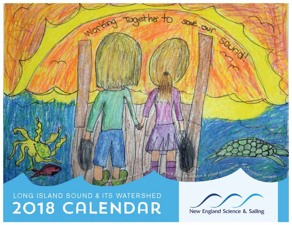 Calendar Drawing Contest : Long island sound calendar contest new england science