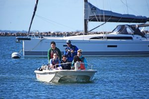 powerboating lesson