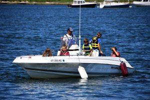 kids powerboating