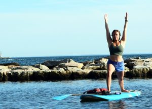 NESS - SUP Yoga Fitness Class